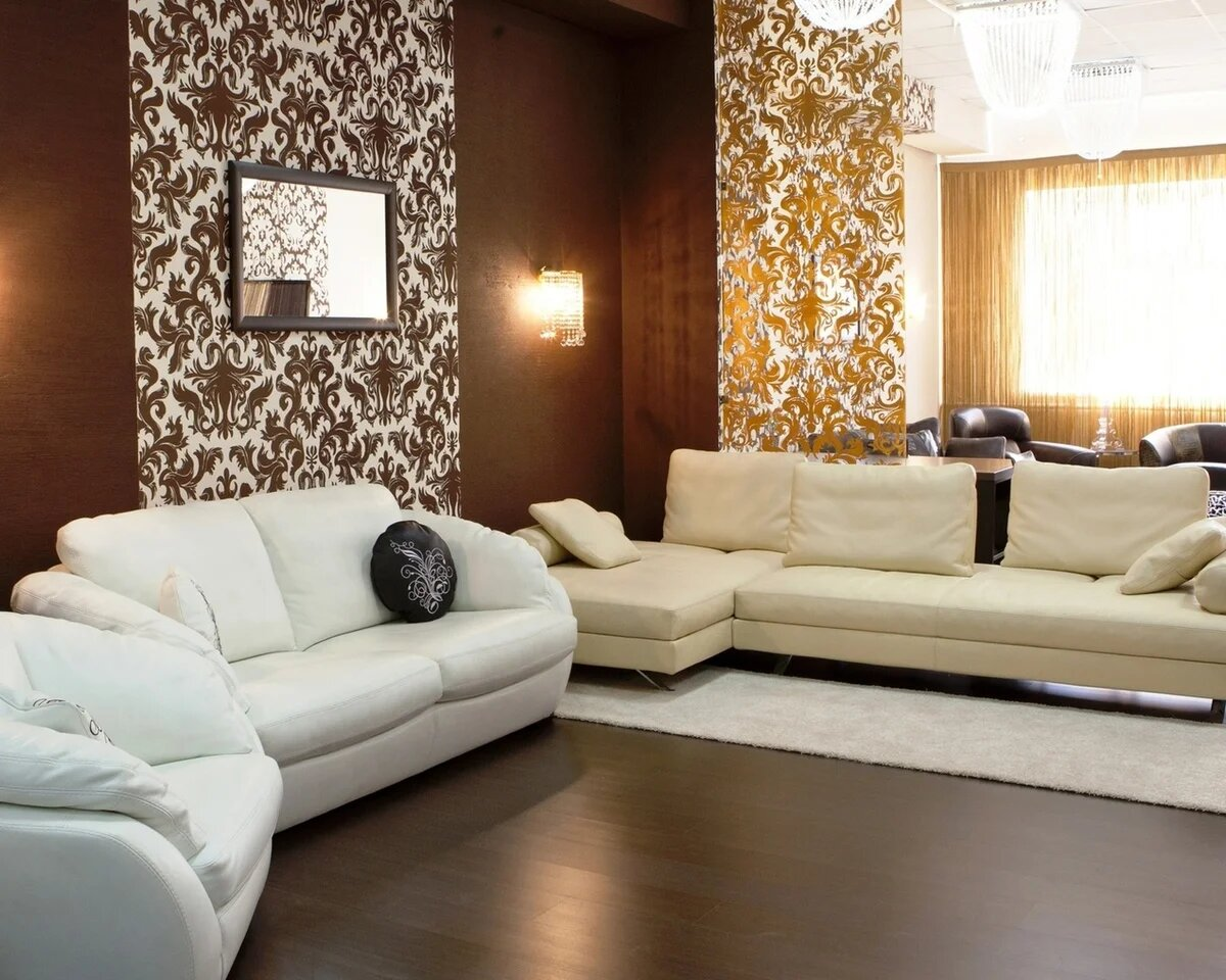 проймы ремонт квартиры обои дизайн фото разные стены карих глаз это