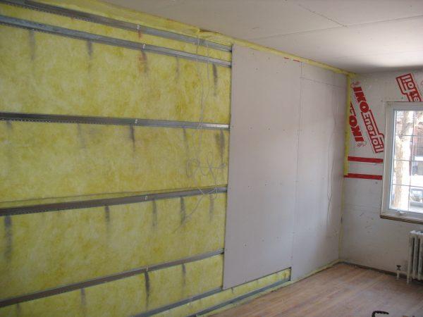 Звукоизоляция панельного дома