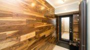 Как отделать стены помещения ламинатом — технология монтажа