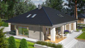 Какая крыша должна быть на прямоугольном доме