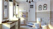 Почему стиль прованс более подходящий для ванной комнаты