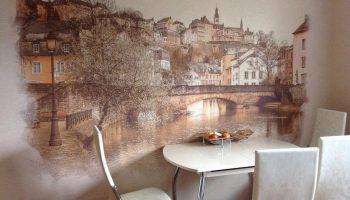 Технология художественной декоративной росписи стен своими руками