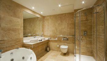 Чем можно отделать стены кроме плитки в ванной комнате