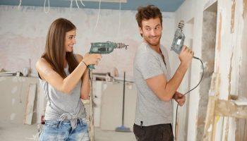 Какие ремонтные работы можно производить только после получения разрешения