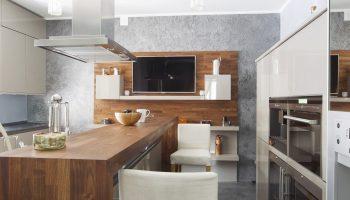3 козырных места на кухне для размещения телевизора