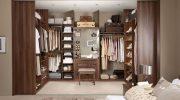 Как оформить гардеробную комнату в спальне — 7 рабочих советов