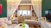 Как обустроить гостиную и детскую в одной комнате