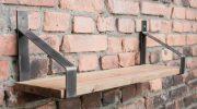 Как повесить полку на стену, если она  крошится при сверлении