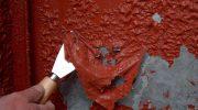 Как легко снять старую краску с металла