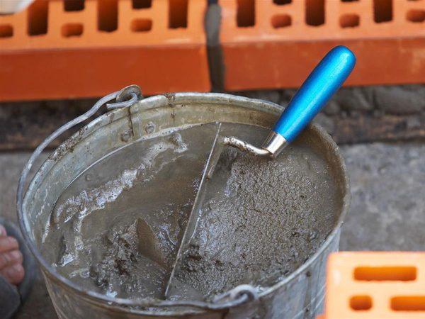 Фото бетона в ведре