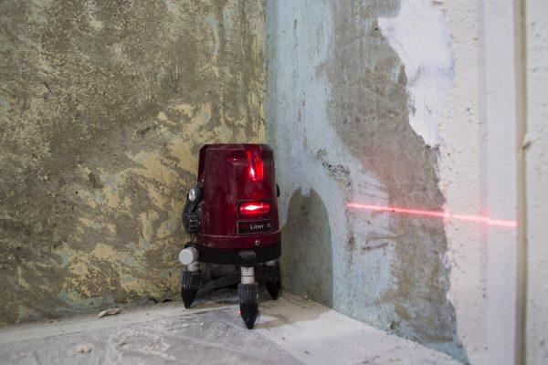 Фото лазерного уровня