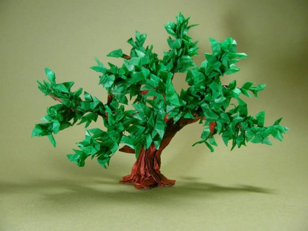 Объемное дерево