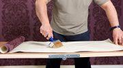 Как надежно поклеить обои на стены без дефектов и переделок