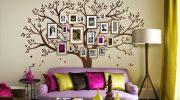 Как сделать декоративное дерево на стену своими руками