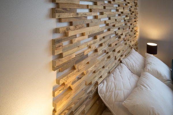 3Д панели возле кровати