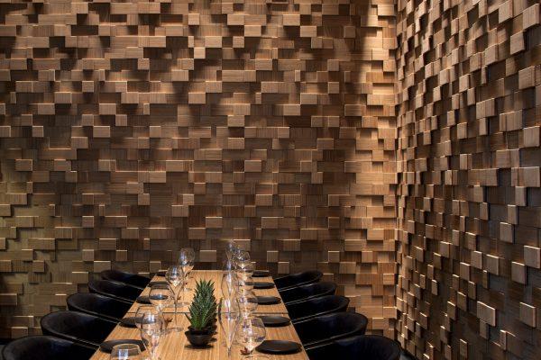 Фото деревянных 3Д панелей