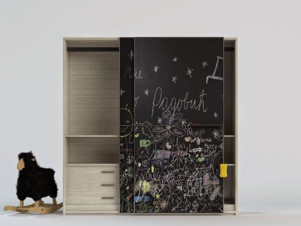 Грифельная краска на шкафу