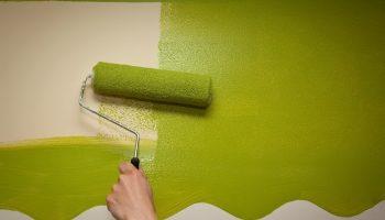 Почему в один слой красиво стены не покрасить