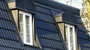 Как сделать скат прямого окна в крыше мансарды