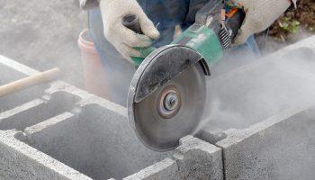 Как резать бетон и кирпич простой болгаркой (УШМ)