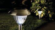 Для чего нужны светильники на солнечных батарейках
