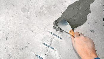 Самый надежный метод заделать трещину в бетоне