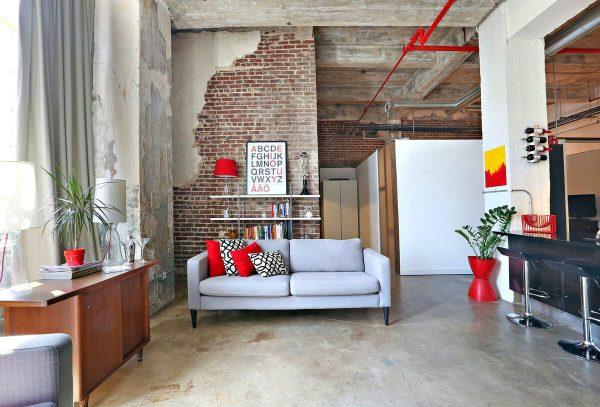 Фото квартиры в стиле лофт