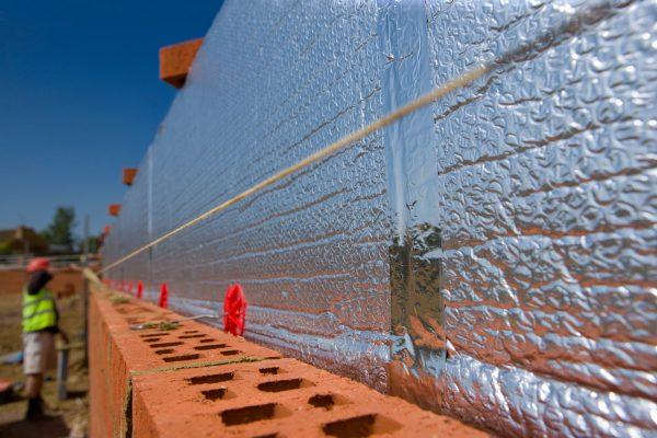 Теплоизоляция кирпичных стен