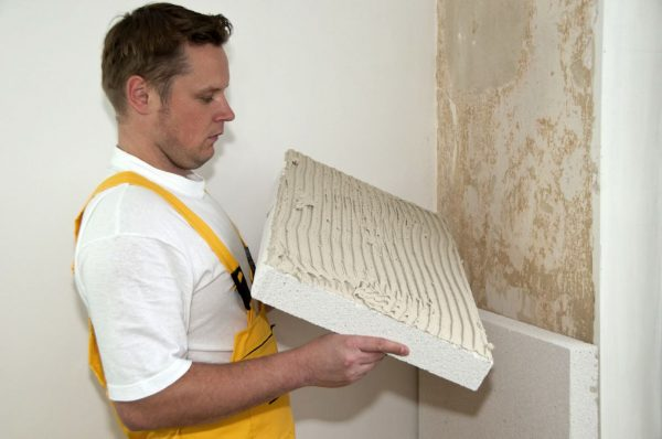 Звукоизоляция стен пенопластом