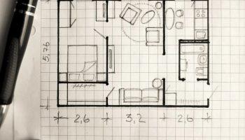 Как самостоятельно нарисовать планировку квартиры или дома и не допустить банальных ошибок