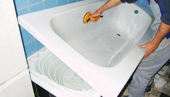 Как отреставрировать ванну методом ванна в ванне, чтобы не покупать новую