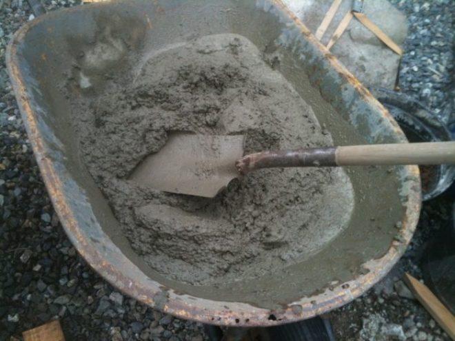 Как добавлять соль в цементный раствор купить б у вибратор для бетона