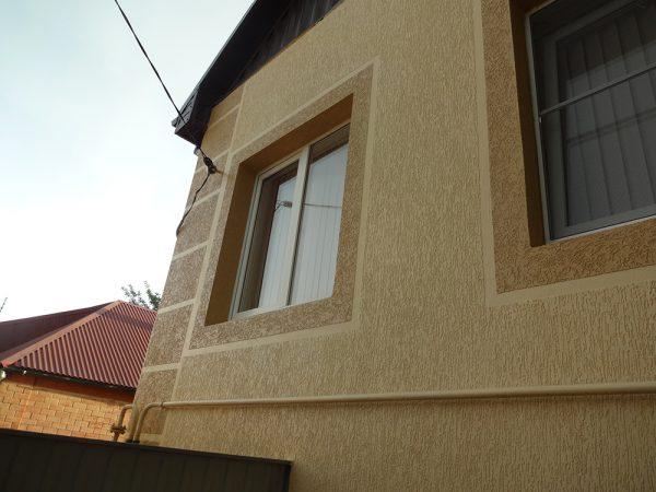 Фасад с короедом