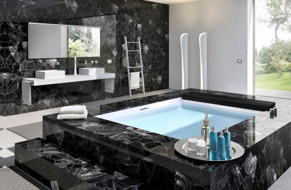 Гранит в ванной