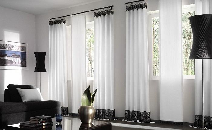 Из чего изготовляются современные шторы