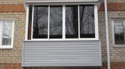 Алюминиевое или пластиковое остекление балкона