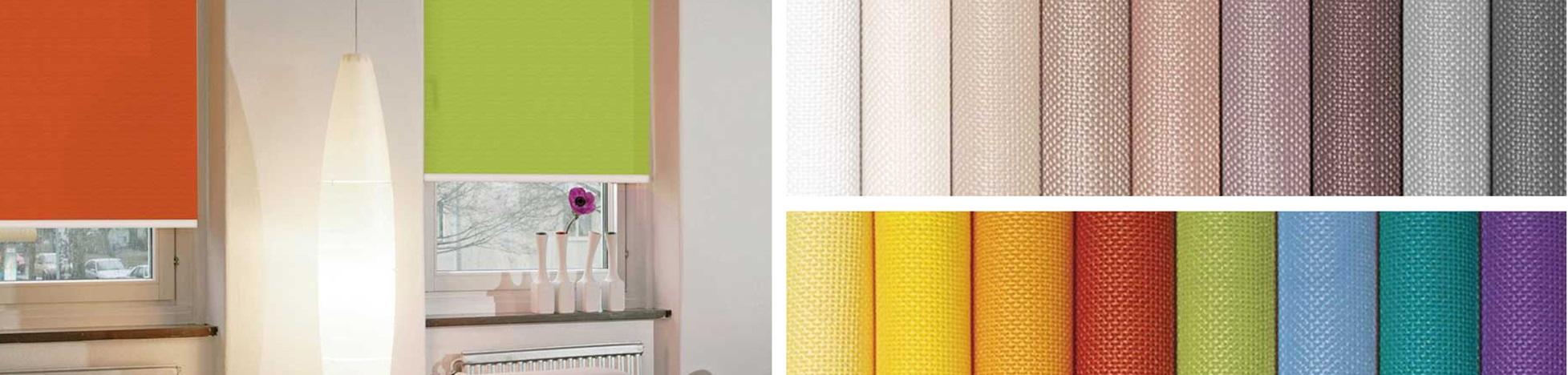 Выбор ткани для рулонных штор