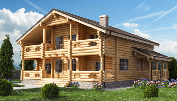 Что такое домокомплекты из бревна и чем они хороши