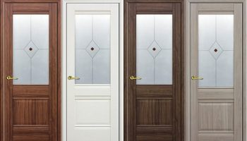Особенности дверей из экошпона