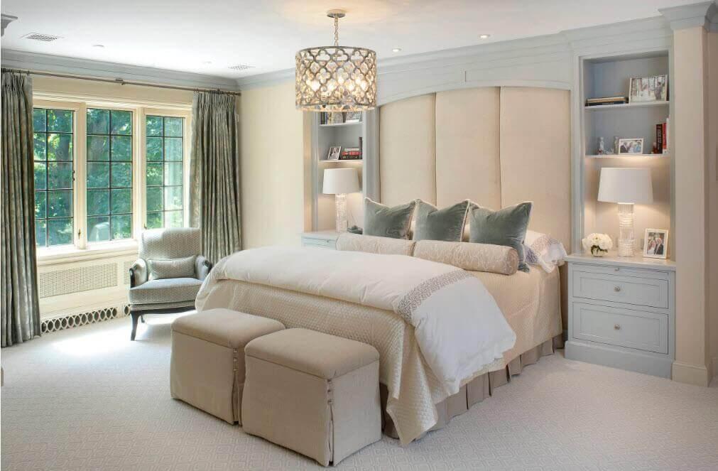 Как выбрать хорошую люстру для спальни