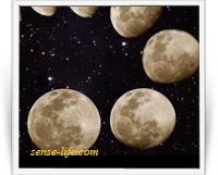 Планирование активности по лунным фазам