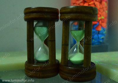 Светящиеся песочные часы