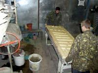 Процесс изготовления мрамора