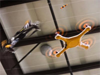 Битва радиоуправляемых дронов