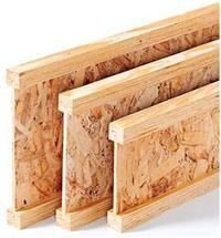 Производство деревянной двутавровой балки для крыш и перекрытий