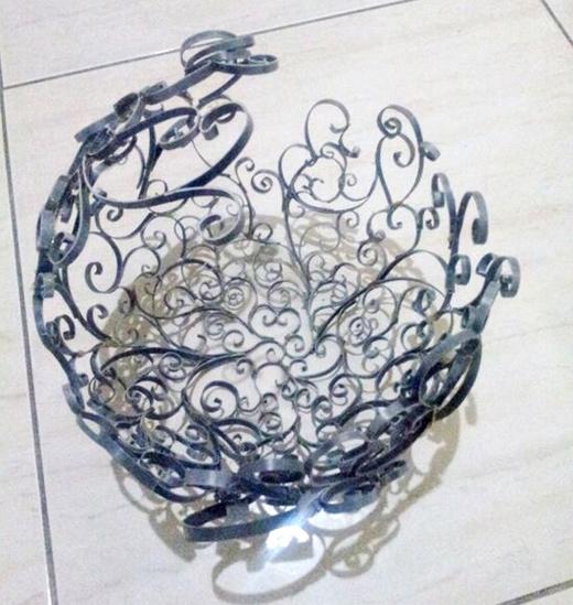 абажур из пластиковой трубы