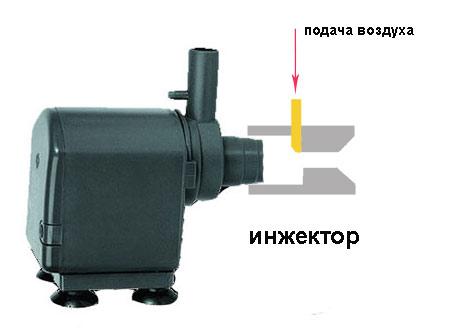 самодельный инжектор для помпы скиммера