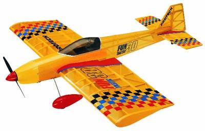 Скачать Чертежи авиамодели Exstra 300s