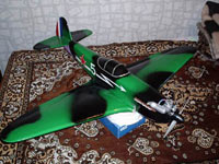Авиамодель ЯК-3