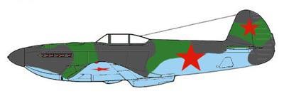 Скачать Чертежи авиамодели ЯК-3